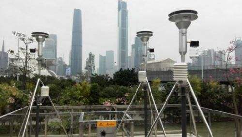 Application of PM2.5 sensor in air quality monitoring station