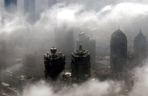 The causes of haze and the working principle of PM2.5 dust sensor