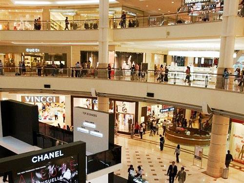 Application of air quality detection module in air quality monitoring in shopping malls