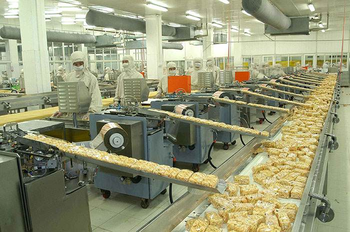 Application of dust particle sensor in dust-free workshop of food factory