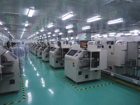 Application of dust sensor in clean room of precision machinery workshop
