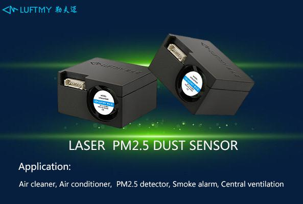 Application of PM2.5 sensor and other sensor modules in daily life