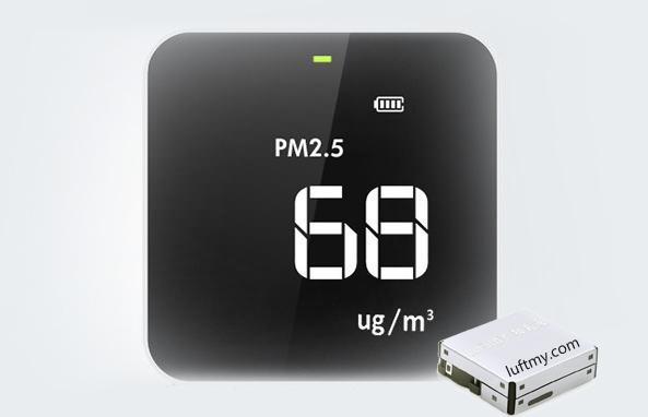 Portable PM2.5 monitor