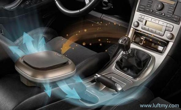 vehicle air purifier system