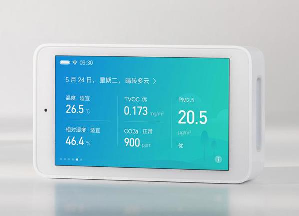 Haze table with built-in PM2.5 sensor