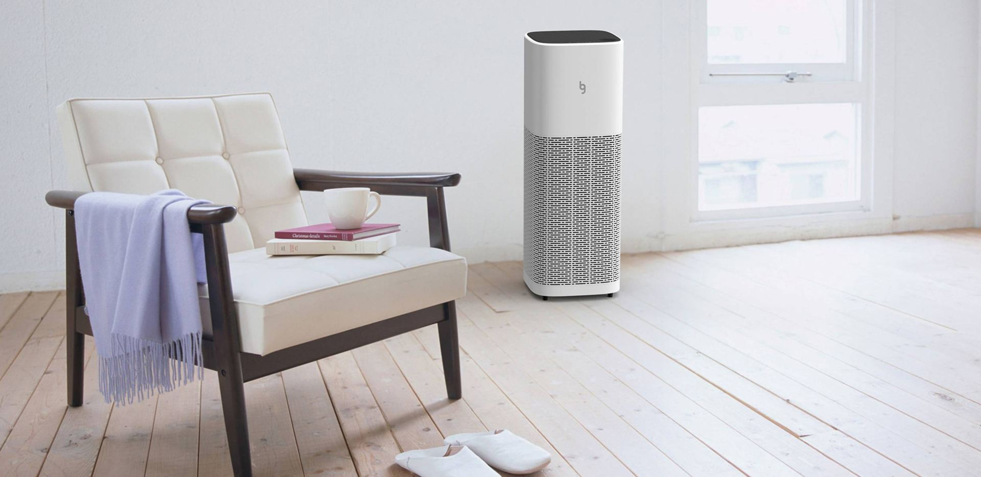 What sensors are used in the air purifier