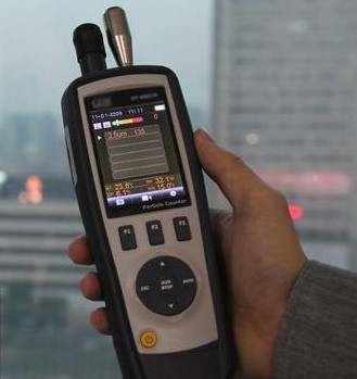 The application of infrared PM2.5 sensor in portable PM2.5 detector